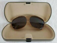 2e772dd7d7a Vintage Safilo 3827 2AE 54 20 Tortoise Bronze Round Clip-On Sunglasses Italy