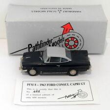Pathfinder Models 1/43 Scale PFM8 - 1963 Ford Consul Capri 1 Of 600 Blue/Grey