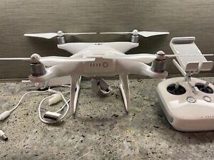 DJI Phantom 4 Advanced 4K Camera Drone - White - New Battery- FREE SHIPPING