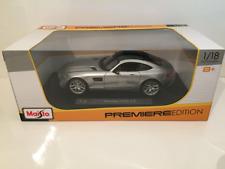 Maisto / Burago 1/18 Diecast Mercedes AMG GT Silver 36204 Premiere Edition