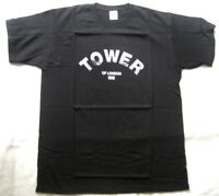 FRUIT OF THE LOOM Herren T-Shirt Schwarz mit Motiv Schriftzug Gr. L