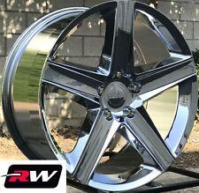 "Jeep Grand Cherokee Wheels SRT8  Staggered 20x9"" / 20x10"" Chrome Rims 5x5"" 5x127"