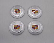 4pcs 56mm Car Wheel Center Hub Caps Stickers Emblem Styling For Cadillac 5640