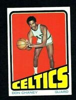 NM 1972 Topps Basketball #131 Don Chaney.