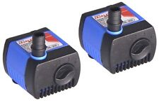 2X 50GPH Submersible Water Pump Aquarium Fish Tank Powerhead Fountain Hydroponic
