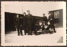 RASTATT ? PHOTO TROUPES FRANCAISES EN ALLEMAGNE AUTOMOBILE AVEC AIGLE TOA 1947