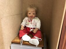 Doris Stannat Vinyl Puppe 58 cm. Top Zustand