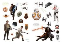 Star Wars The Force Awakens giant vinyl stickers 1000mm x 700mm (aby)