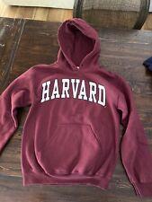 Harvard S Sweatshirt Hoodie In Great Condition. Perfect For School Fans