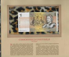 Most Treasured Banknotes Australia $1 1979 Unc P42c Knight/Stone prefix Dcd