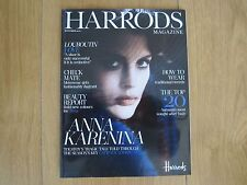 Harrods Magazine September 2012 New.