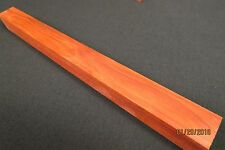 "REDHEART LUMBER CHAKTE KOK 1"" x 12"" TURNING BLANK AWESOME GRAIN AND GREAT COLOR"