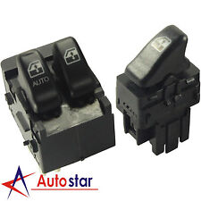 Set of 2 Power Window Switch Front Pair Kit For Chevy Venture Olds Silhouette