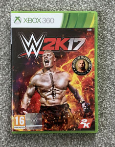 WWE 2K17 Microsoft Xbox 360 Boxed Complete *tested*