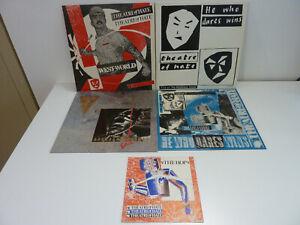 SPEAR OF DESTINY/THEATRE OF HATE - 4 X 80'S POST-PUNK LP BUNDLE - EX - **SALE**