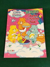Jumbo Care Bears Pink Coloring And Activity Book From Bendon Ages 2010