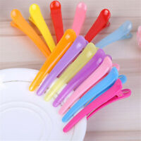 8cm Candy Color Plastic Hair Clip Pin Alligator Hairpin Accessory Mixed 10 pcs