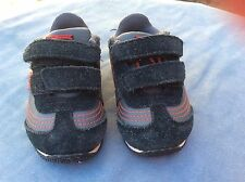 Gray, Black And Red Puma  toddler boys light up sneakers - size 4