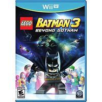 NEW LEGO Batman 3: Beyond Gotham (Nintendo Wii U, 2014)
