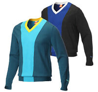 Puma Golf Colour Block V Neck Sweater RRP£59.99 - LARGE OR XL 1st Class Post