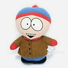 """South Park Stan Plush Stuffed Animal 9"""" Comedy Central Nanco Soft Red Blue Hat"""
