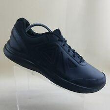 Reebok Men's Walk Ultra 6 DMX Max Cross Trainer Black Leather Size 14 XW 4E #K31