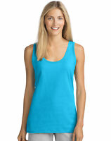 Hanes Live.Love.Color Scoop Neck Tank Top Sleeveless Lightweight Essential Women