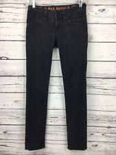 Rock Revival Black Skinny Jeans 27 x 32 Women's Patti Flap Pocket RN 124708