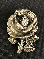 Signed Miracle (B.921) Vintage Rose Brooch