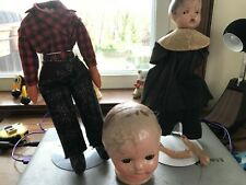 Doll Parts For Repair Or Restoration-jor