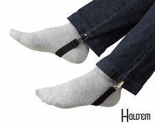 """New Stirrup 8"""" Hold'Em Boot Straps Elastic Stirrup-Adjustable Leg Clip"""