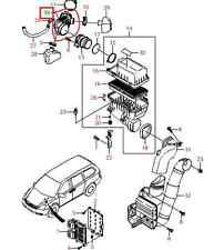 2005-2014 KIA SEDONA AIR INTAKE HOSE FOR THROTTLE BODY TO INTAKE 28138 4D200