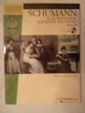 SCHUMANN BOOK/AUDIO DOWNLOAD Album for the Young Hal Leonard Piano Library!