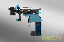 IPhone 5 hembrilla de carga terminal, conector revertido Port Audio Jack cable Flex negro
