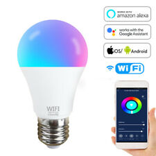 Wifi Smart LED Light Bulb E27 B22 15W 1500ML RGBW Dimmable for Alexa/Google Home