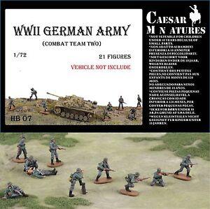 Caesar Miniatures 1/72 WWII German Army Combat Team 2 # B07