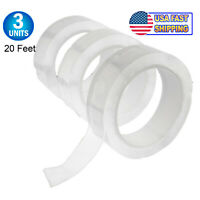 NEW Gel Nano Silicone Extreme Grip Tape Double Sided Clear Reusable Waterproof