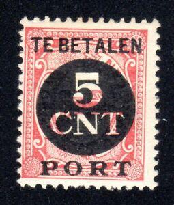 1924 Nederland SC# J77 - Postage Due Stamps - M-H
