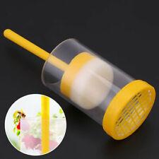 1x Beekeeper Queen Bee Marking Cage Marker Bottle + Plunger Beekeeping Equipment