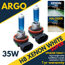 H8 35w Hid Conversion Bulbs Bi-xenon Super White Canbus Error Free