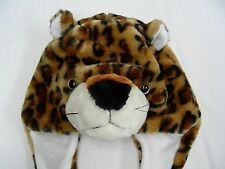 LEOPARD - ADULT SIZE - NOVELTY STOCKING CAP BEANIE HAT!