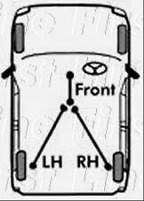 FKB2194 FIRST LINE BRAKE CABLE - FRONT fits Subaru Impreza 2.0 94-