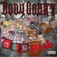 BODY COUNT - BORN DEAD  CD 12 TRACKS HEAVY METAL CROSSOVER  NEW+