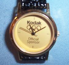 1992 Summer Olympic Games Spain Kodak Official Sponsor Souvenir Watch Women's