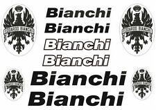 Bianchi Bicycle Vinyl Decal Stickers Frame Replacement Adhesive Set Aufkleber #3