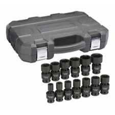 "Gearwrench 12 pc Metric 1//2/"" drive Deep Impact Socket Set 8-19mm w// Case #84944"