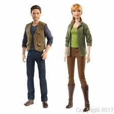 Jurassic World Claire and Owen Barbie Dolls IN STOCK NOW!