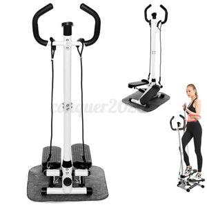 Fitness Air Stair Stepper Elliptical Machine Cardio Equipment w/ Handle Carpet