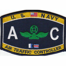 """US Navy Air Traffic Controller AC Rating Patch 4 1/2"""" x 3 1/4"""" Licensed"""