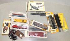 Bachmann HO Train Engine Cars Tressle & Bridge Tracks Power Pack in Boxes Lot